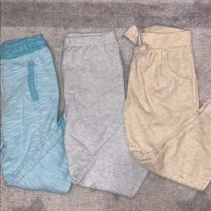 Girls sweat pants bundle